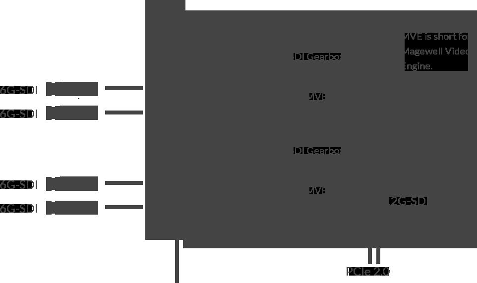 Pro Capture Dual SDI 4K Plus - Magewell