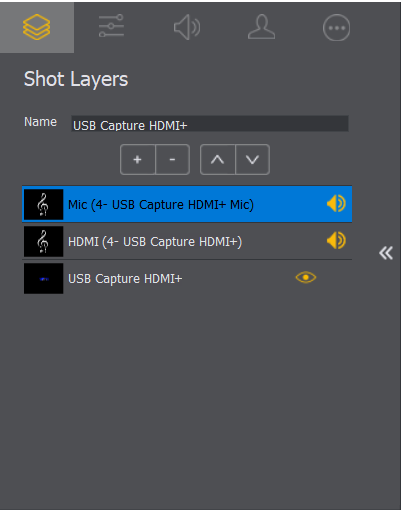 Add audio capture devices in Wirecast