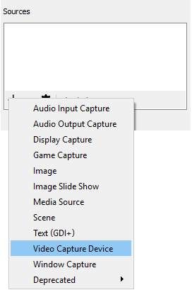 Use Magewell capture device and OBS Studio to record video