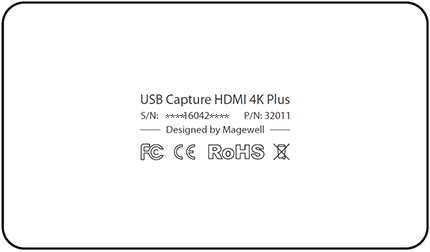 Example of USB Capture's hardware version